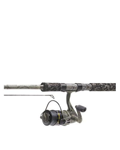 Kinetic Canna Da Pesca Con Mulinello Warrior Spin Combo 9' 12-45G Antracita / Gris