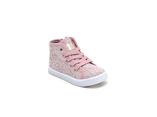Liu Jo scarpe bambina, articolo 22056B, sneakers in pizzo, colore rosa