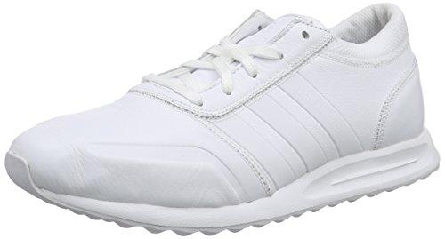 adidas Originals Herren Los Angeles Sneakers, Weiß (Ftwr White/Ftwr White/Ftwr White), 42 EU