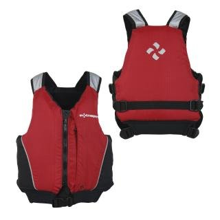 Extrasport Inlet Jr Life Jacket (PFD) - Red/ Black Youth