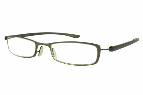 Calabria 21040 Flexie Reading Glasses in Gun-Metal ; +1.50 (Extra Wide Reading Glasses compare prices)