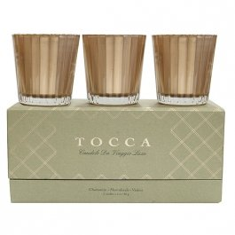 Tocca Candele Da Viaggio Luxe Holiday Candle Set