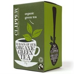 Clipper Organic Green Tea - 50 Bags