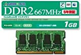 1GB 200pin PC2-5300 DDR2 SO DIMM