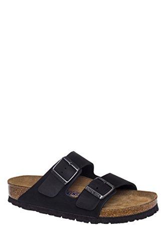 Birkenstock Arizona Soft Footbed Sandal Black Oiled Leather 39
