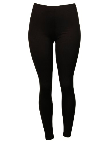 Stylish Solid Colored Soft Stretch Leggings
