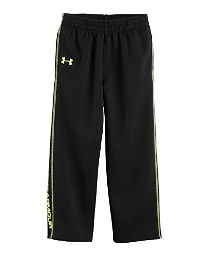 Under Armour Baby-Boys Infant New Root Pant, Black/Heavy, 18 Months front-151278