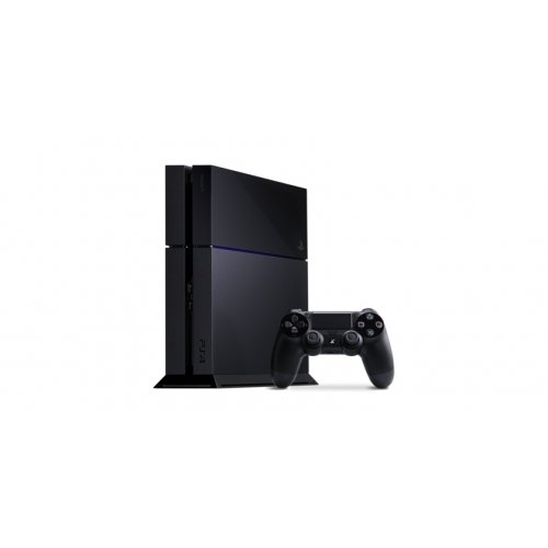 Sony Playstation 4 Gaming Console / With Game Pad - Wireless - Black - Ati Radeon - Blu-Ray Disc Player - 500 Gb Hdd - Gigabit Ethernet - Bluetooth - Wireless Lan - Hdmi - Usb / 10034 /
