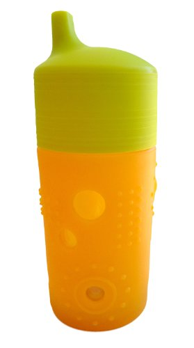Silikids Siliskin Glass Sippy Cup, Tart, 12 Months