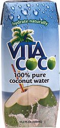 Vita Coco 100% Pure Coconut Water, 11.1 oz, 12 ct