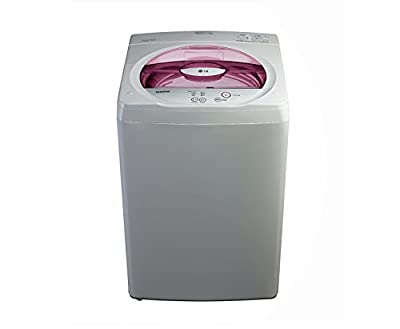 LG T7201TDDLD Fully-automatic Top-loading Washing Machine (6.2 Kg, Cool Grey and Burgundy)