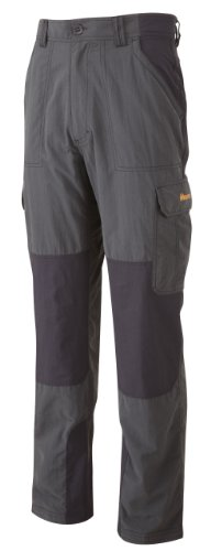 Bear Grylls Survivor Full Stretch Men's Trouser - Black Pepper/Black, 36 Inch - Regular Leg