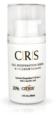 Citrix Cell Rejuvenation Serum 20 Percent With Growth Factor 1 Fl Oz.