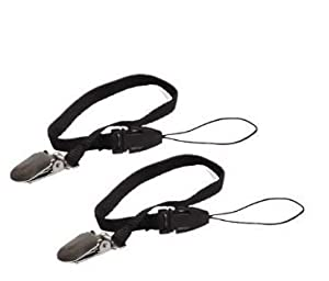 Safety Leash for Pedometer (2) Units. Helps Save Pedometers From Loss and Misplacing and Not Lose Them While Running or Walking and Exercising