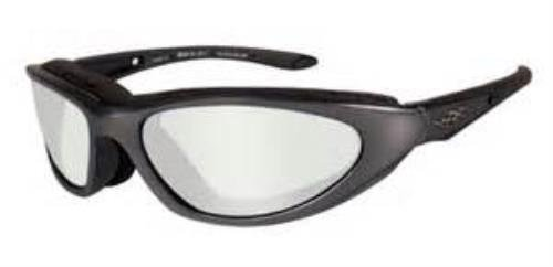 WILEY X BLINK Polarized Silver Flash (Smoke Grey) Matte Black Frame