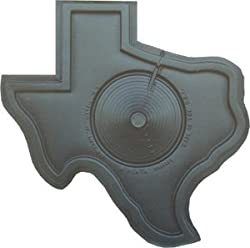 1 Texas Shape Landscape Tree Mat TM, Lawn Garden Weed Barrier/Edging... Tree Ring