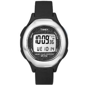 Cheap Timex Timex Health Touch HRM Watch – Black/Silver (B0054YNZF4)