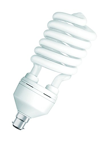 Osram Duluxstar 65W B22D CFL Bulb (White, Pack Of 2)