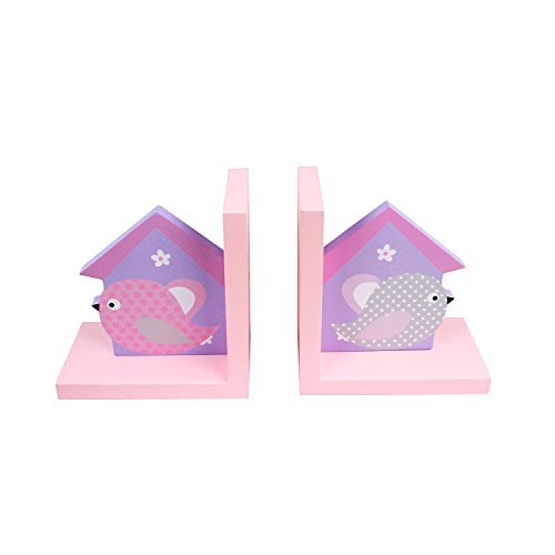 hoddmimis-home-living-wooden-bookends-for-kids-birdhouse-themed