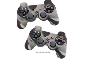 PS3 Camo Controller Skin (Twin Pack)
