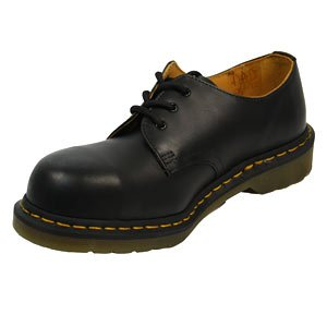 Dr Martens Steel Toe 1925z Black Fine Haircell - Adult Unisex 3 uk