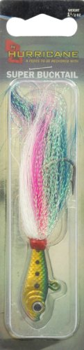 Hurricane 3D Super Bucktail Jig, Bunker (Fishing Rod Thread D compare prices)