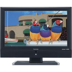 "ViewSonic N3752w - 37"" LCD TV - widescreen - 720p - HDTV - black"