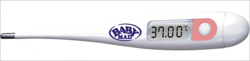 BabyMad Digital Basal Body Temperature Ovulation Test Thermometer + BBT CHART (FAHRENHEIT)