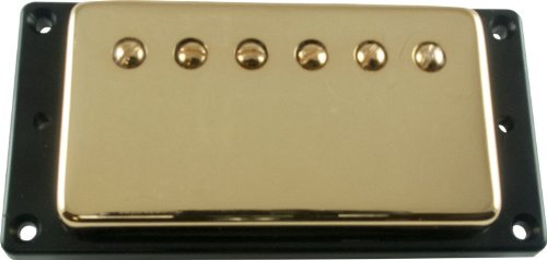 Pickup - Kent Armstrong, Icon Vintage 57 Humbucker (Alnico 3), Bridge, Gold Cover