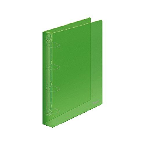 Dohe 90402 - Carpeta polipropileno, 4 anillas de 25 mm, A4, color verde