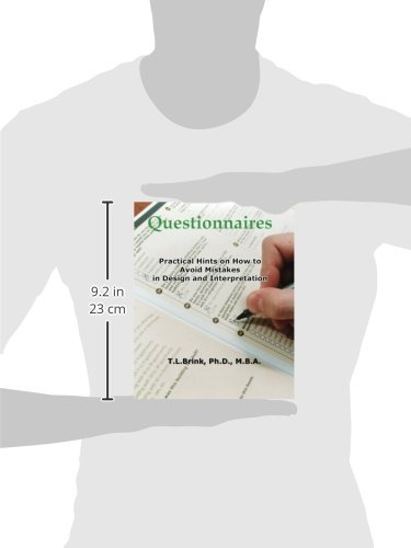Questionnaires: Practical Hints on How to Avoid Mistakes in Design and Interpretation