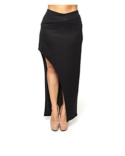 C.O.C. Plus Women's Side Slit Maxi Skirt