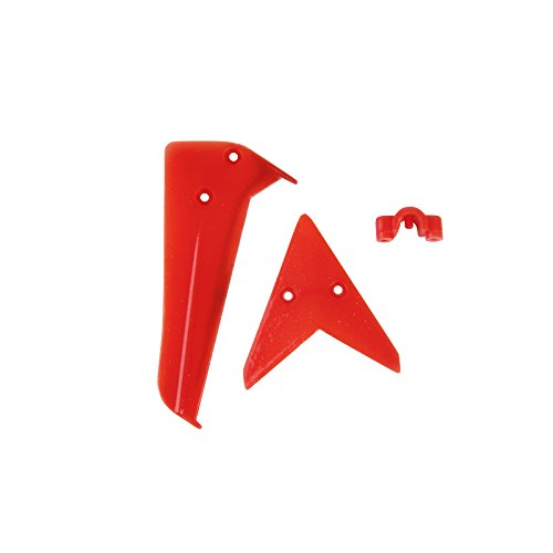 Syma Tail Fin for Syma S5 Helicopter, Red - 1