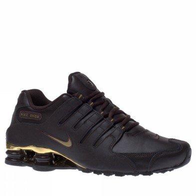 30ee3d03d89 Nike Shox NZ Schuh Velvet Braun Metallic Gold Schuhe on PopScreen