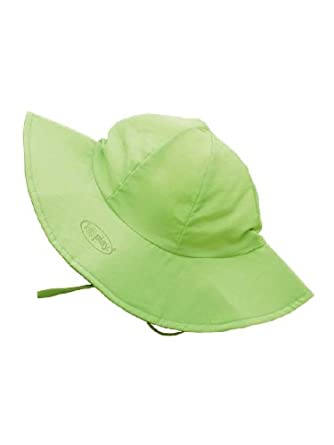 UPF 50+ Sun Protection Brim Hat by Iplay - Green - 6-18 Mths