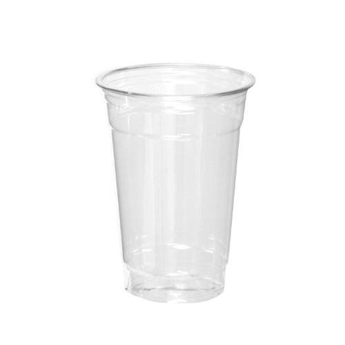 Party Essentials Soft Plastic 16-Ounce Party Cups, Clear, 40 Count