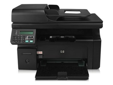 New Hewlett Packard Laserjet Pro M1212nf Multifunction Monochrome Laser Fax Copier Printer Scanner
