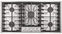 Whirlpool Gold : GLS3665RS 36 Stainless Steel Gas Cooktop with 5 Sealed Burners