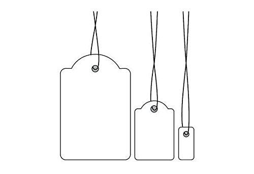 HERMA Etiquette pour textiles, 18 x 28mm, avec fil rouge, pqt 1000