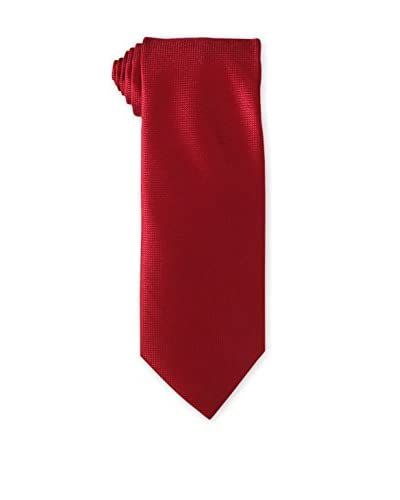 Geoffrey Beene Men's Solid DiMen'sion Grid Tie