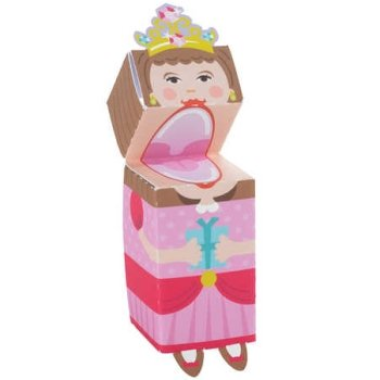 Princess Finger Puppets 4 Per Pack - 1
