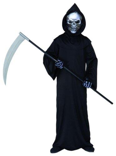 Widmann WDM55507 - Costume Per Bambini Grim Reaper (140 cm/8-10 Anni ), Nero, XS