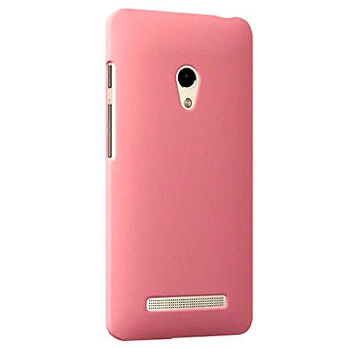 ASUS ZenFone 5 スリムフィットケース AIR SLIM DESIGN [ A500KL 16GB 32GB SIMフリー LTE / 楽天モバイル版 対応 ] 薄型軽量デザイン19g ワンタッチ装着 Slim Fit Cover Case PCハード素材MY WAY 専用パッケージ:全5色 (ASUS ZenFone 5, Light Pink (ピンク))