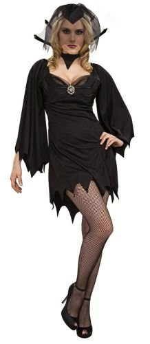 Rubies Gothic Black Widow Costume - One Size