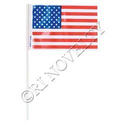 ~ 144 ~ Plastic USA Flags ~ 4