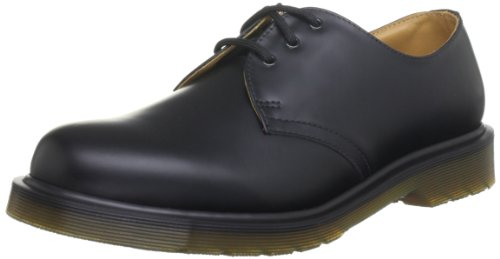 Dr. Martens 1461 PW 11839002 SMOOTH AW51 CK10 , Scarpe basse unisex adulto, Nero, 42