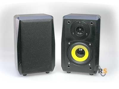 Dynavox TG-1000M Mini-Aktiv Lautsprecher 35 Watt schwarz (Paar)