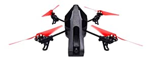 Parrot AR.Drone 2.0 Power Edition Quadricopter - 2 HD Batteries - 36 minutes of flying time - Red