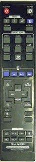 Brand New Original Sharp RRMCGA331AWSA Remote (Sharp Television Sound Bar compare prices)