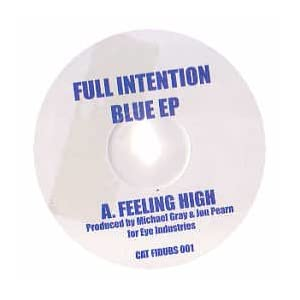 FULL INTENTION - Blue EP - 12 inch 45 rpm